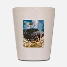 Fly On The Mountain Shot Glass