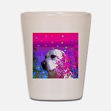 Golden Labrador Retrievers Shot Glass
