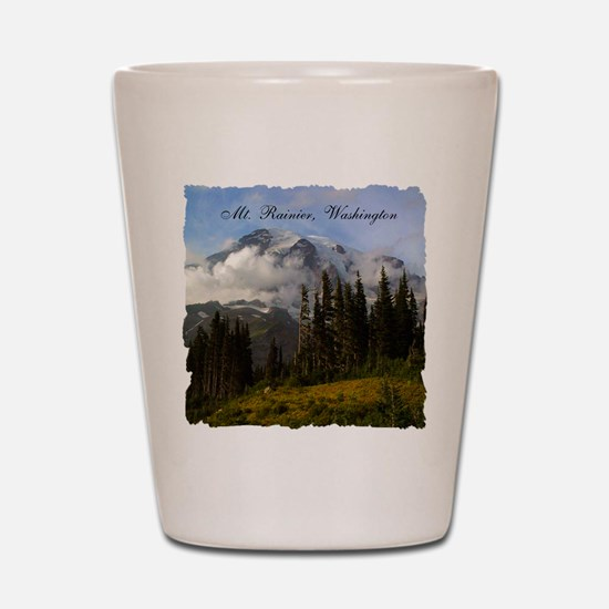 Mt. Rainier #3 Shot Glass