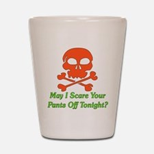 Halloween Pickup Line Shot Glass