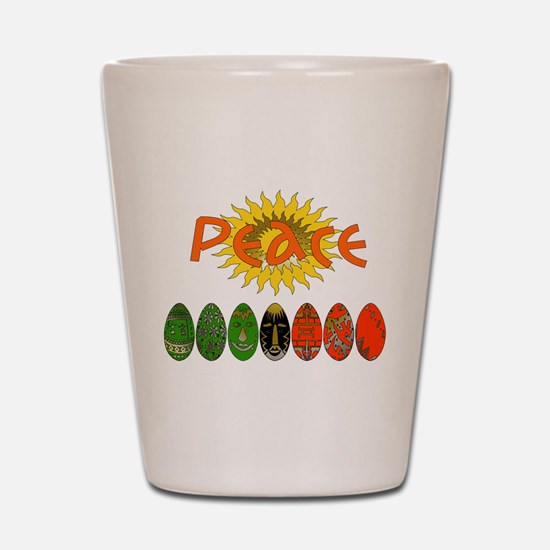 Kwanzaa Peace Shirts Shot Glass