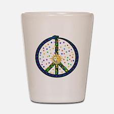 Solstice Peace Shot Glass