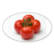 Tomato Oval Decal