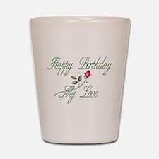 Lover Birthday Shot Glass