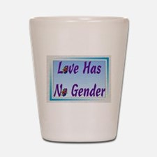 Funny Gay wedding Shot Glass