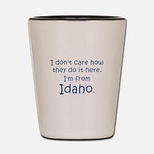 From Idaho Shot Glass