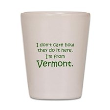 From Vermont Shot Glass
