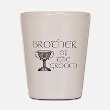 Celtic Brother Groom Shot Glass
