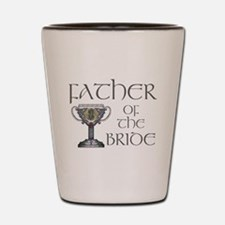 Celtic Father Bride Shot Glass