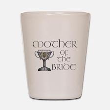 Celtic Mother of Bride Shot Glass