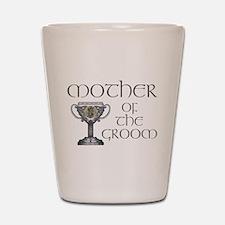 Celtic Mother of Groom Shot Glass