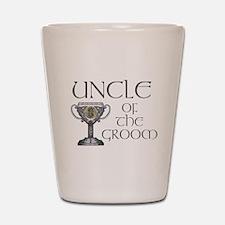 Celtic Uncle of Groom Shot Glass