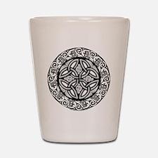 Celtic Shield Shot Glass