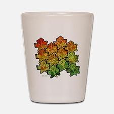Celtic Leaf Tesselation Shot Glass