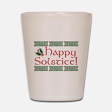 Happy Solstice Shot Glass