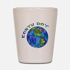 Earth Day World Shot Glass