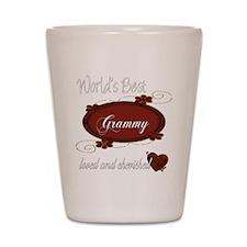 Cherished Grammy Shot Glass