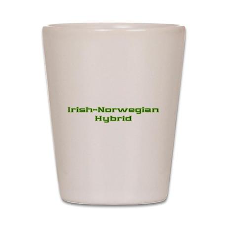 Irish Norwegian Hybrid Shot Glass
