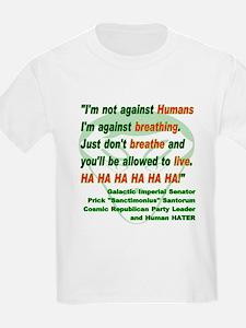 Anti-Human Kids T-Shirt