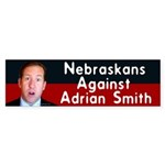 Nebraskans Against Adrian Smith bumper sticker