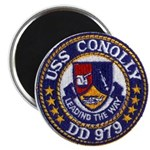 USS CONOLLY Magnet