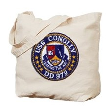 USS CONOLLY Tote Bag