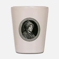 """Ben Franklin """"Liberty"""" Shot Glass"""