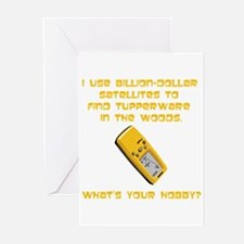 Geochaching What's Your Hobby Greeting Cards (Pk o