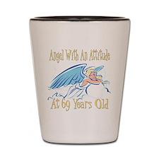 Angel Attitude 69h Shot Glass