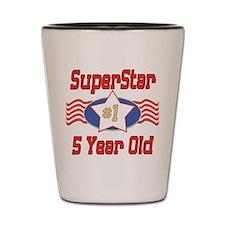 Superstar at 5 Shot Glass