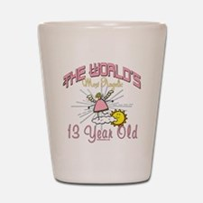 Angelic At 13 Shot Glass