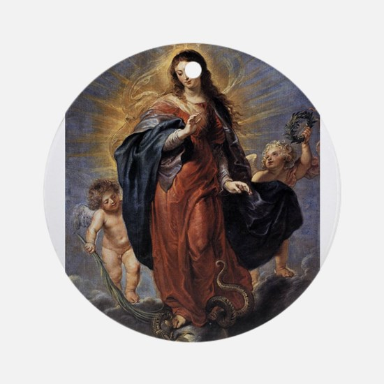 Immaculate Conception Ornament (Round)