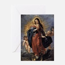 Immaculate Conception Greeting Card