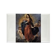 Immaculate Conception Rectangle Magnet