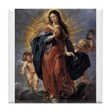 Immaculate Conception Tile Coaster