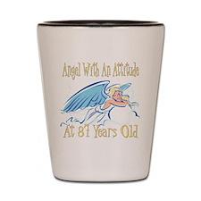 Angel Attitude 87th Shot Glass