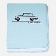 Triumph Herald baby blanket