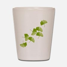 Ginkgo Leaves Shot Glass