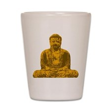 Buddha Graphic Shot Glass