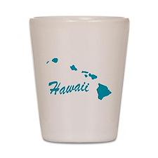 State Hawaii Shot Glass