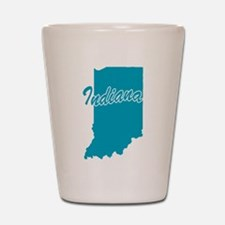 State Indiana Shot Glass