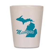 State Michigan Shot Glass