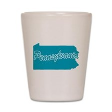 State Pennsylvania Shot Glass