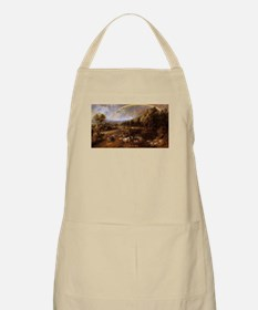 Landscape with Rainbow Apron
