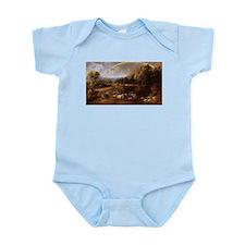 Landscape with Rainbow Infant Bodysuit