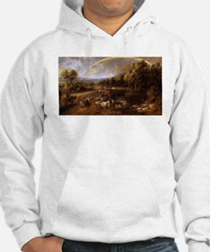 Landscape with Rainbow Hoodie