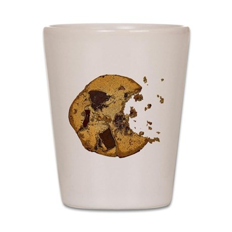Chocolate Chip Cookie Shot Glass