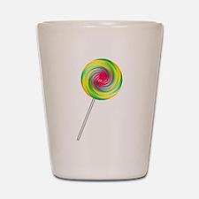 Swirly Lollipop Shot Glass