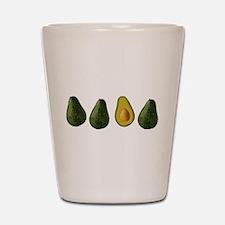 Avocados Shot Glass