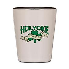 Holyoke St. Patrick's Day Shot Glass